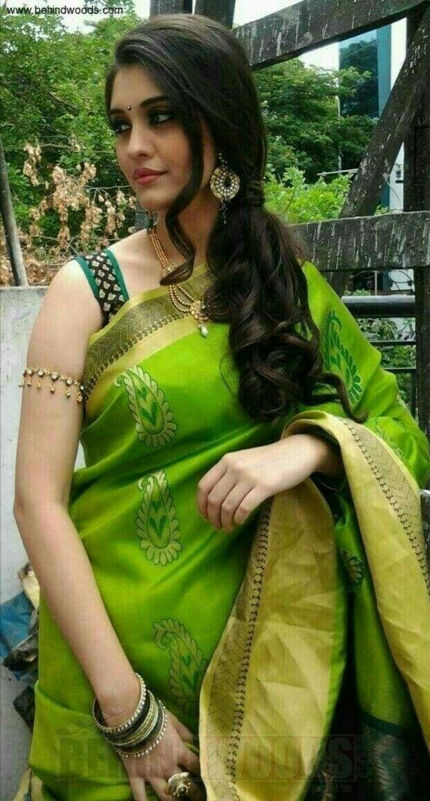 Green Saree, Saree, Saree Dress