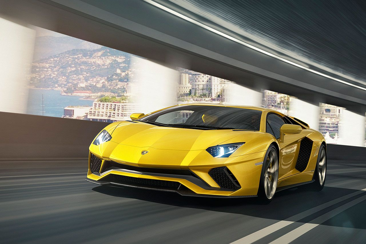 Lamborghini Aventador S Coupe The New Aventador S Now Features Active Aerodynamics A Completely Flattened Undertray Automobil Beauty In Motion Lambo