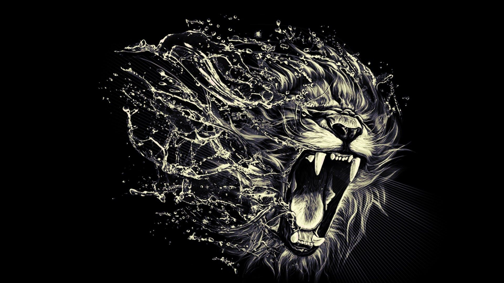 Angry Lion Wallpaper 43 Pictures In 2020 Art Lion Tattoo Lion Wallpaper