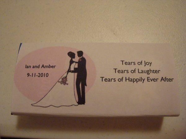 Diy Kleenex Favours Project Wedding