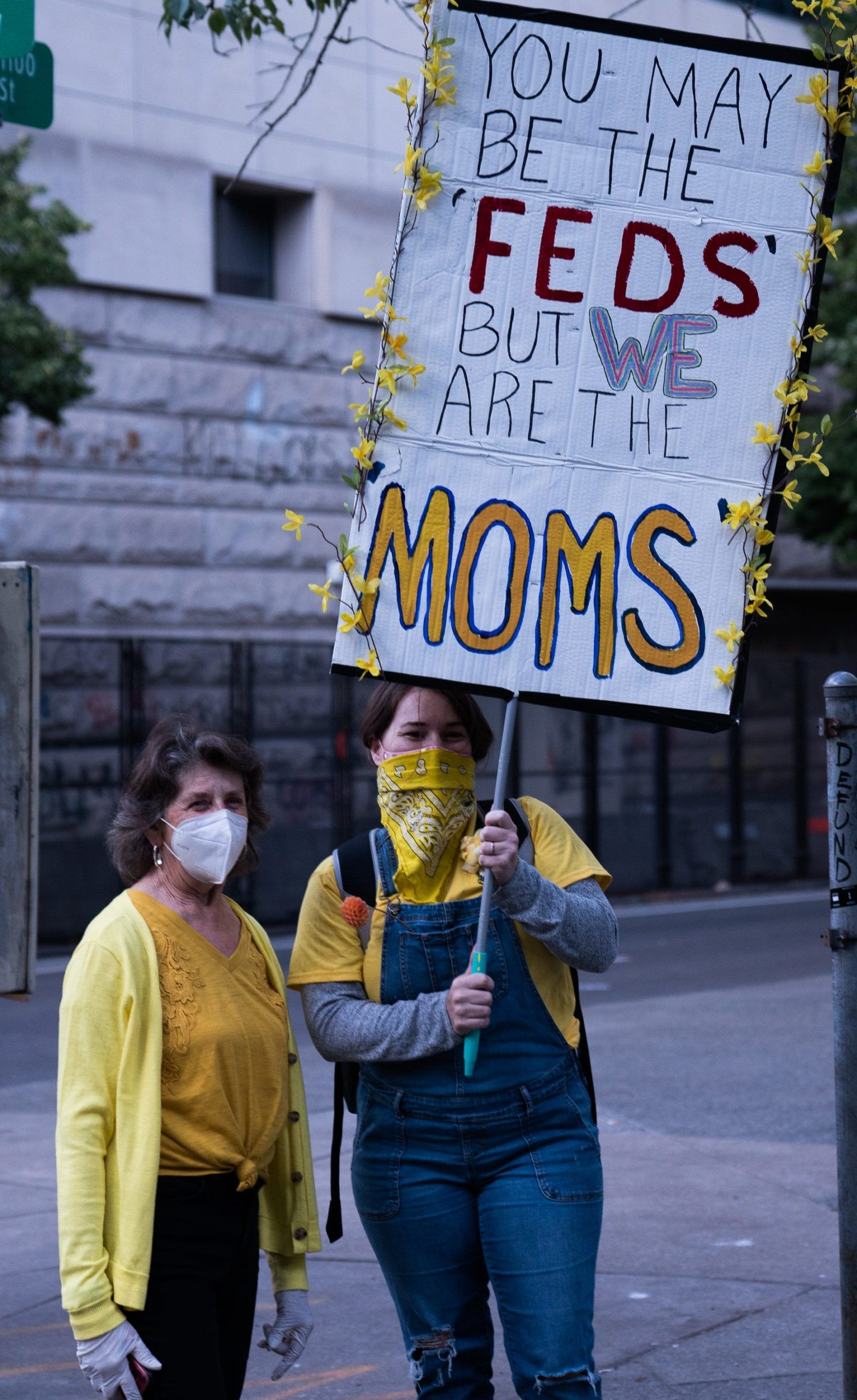 the wall of moms sue trump for tear gassing them in 2020 on wall of moms id=12635