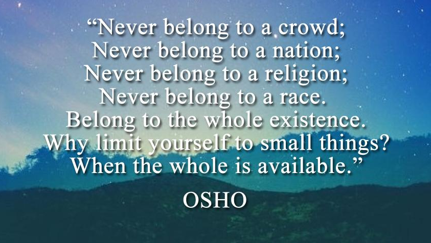 Osho Quotes Simple Image Result For Maya Angelou Quotes About Belonging  Blogging