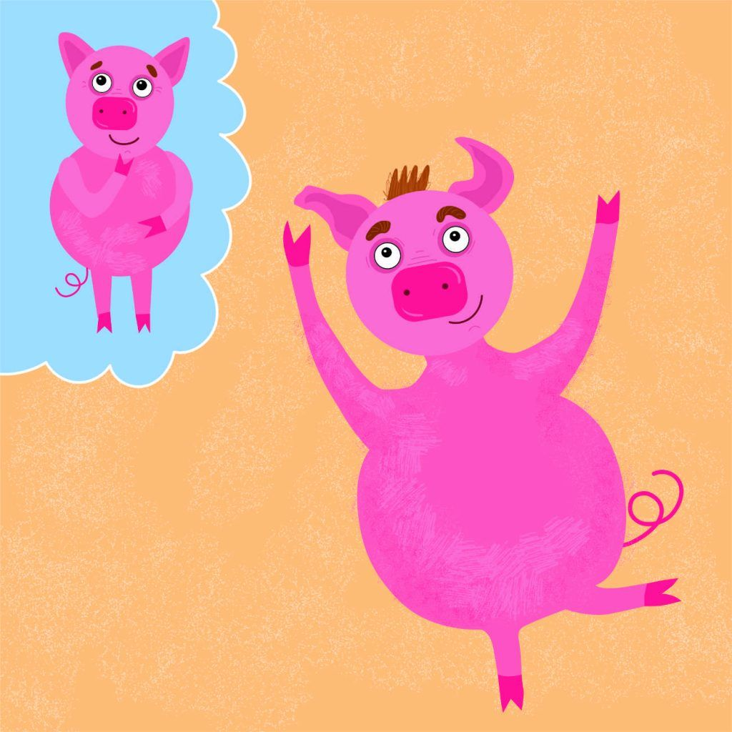 The Big Pink Pig Learn To Read Phonics Bedtime Stories