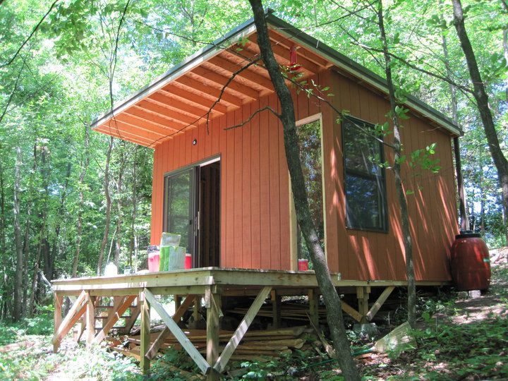 Shed Roof Cabin 10 X 15 Shed At Xanadu Small Cabin Forum Shed To Tiny House Small Cabin Plans Tiny House Cabin