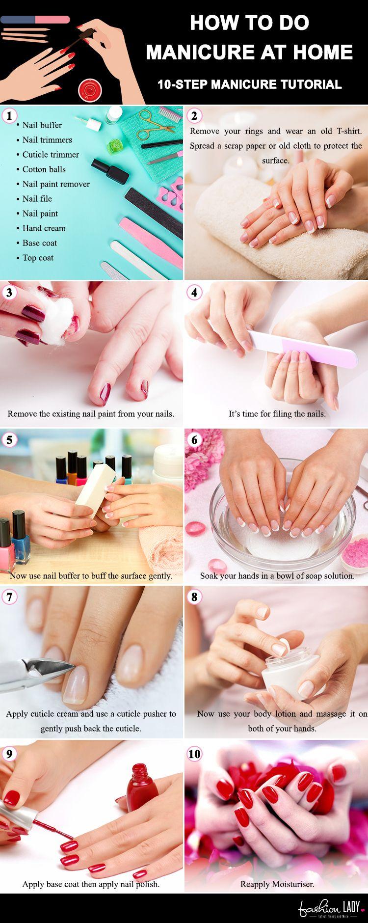 Manicure Steps