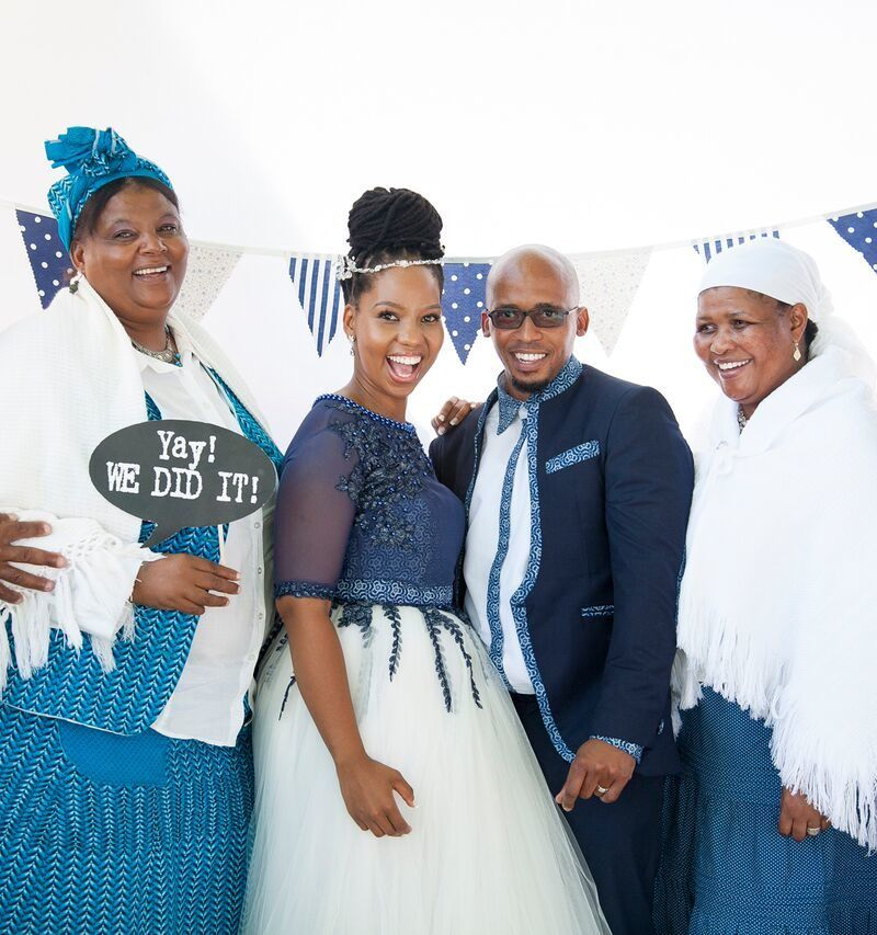 Sesotho traditional wedding pictures