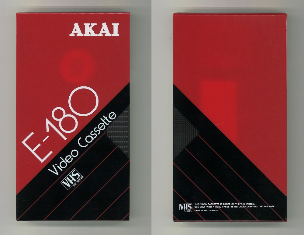 Blank Vhs Cassette Packaging Design Trends A Lost Art Flashbak Packaging Design Trends Vhs Cassette Vhs