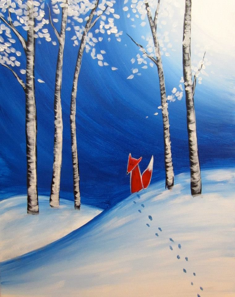 Painting House Wall Art Ideas Canvas Art Ideas Abstract Art Ideas Canvas Ideas Abstract Painting Ideas Night Painting Canvas Painting Winter Art Projects