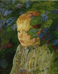 Sophie, 1894 - Cuno Amiet (Swiss, 1868-1961)