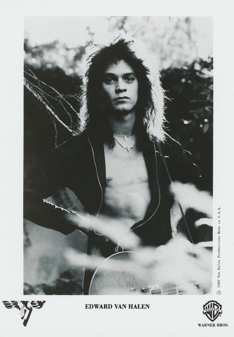 The Private Photo Shoot That Sparked A War Inside Van Halen Eddie Van Halen Van Halen Halen