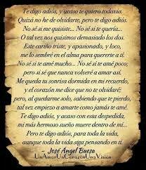 Poema De Despedida A Un Amor Imposible Pin De Loredana Bergami En Poesias Frases Y Algo Mas Te Digo