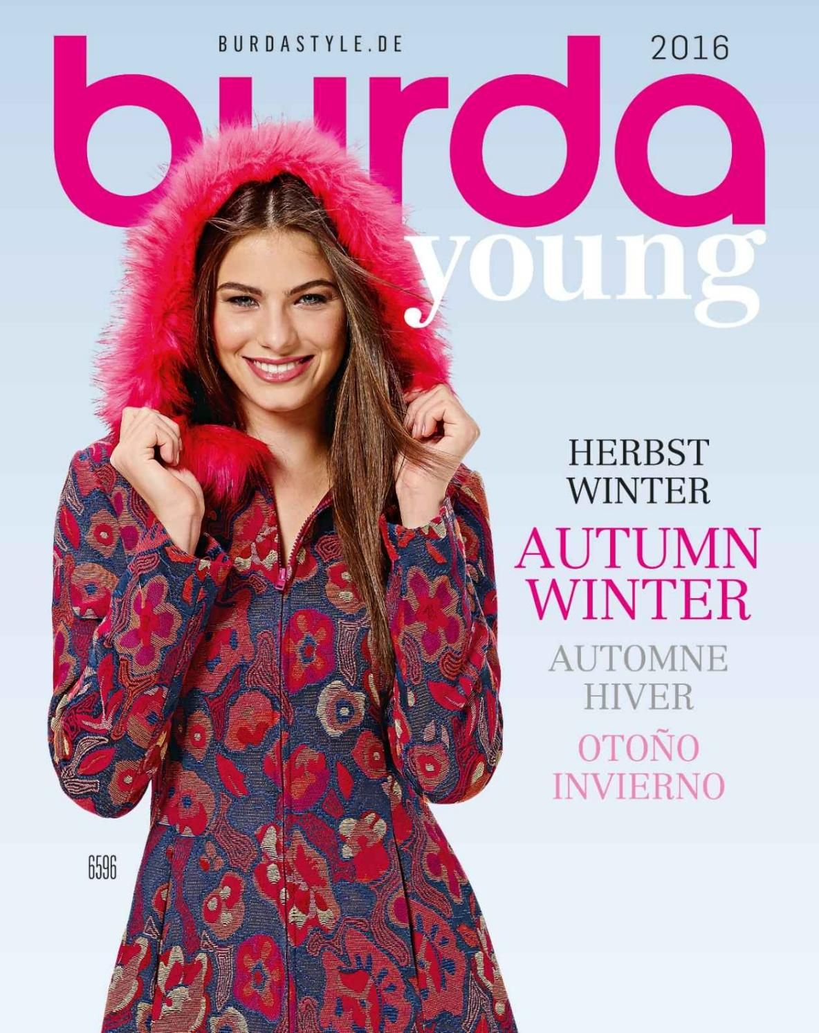 Burda young 20162017 sewing patterns and patterns burda young 20162017 knitting magazinesewing patternsjournalsstitching bankloansurffo Images