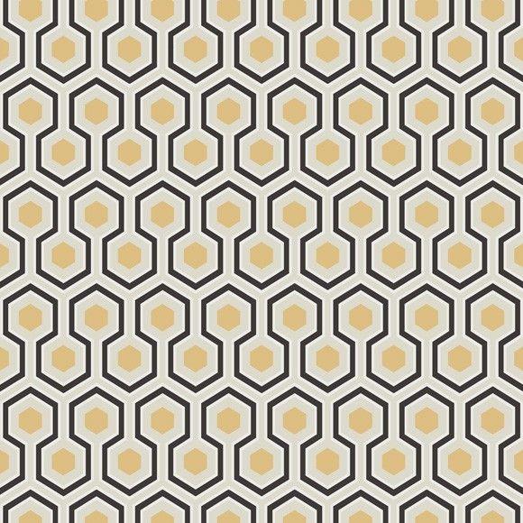 papier peint hicks hexagon   hexagons
