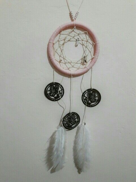 #Atrapasueños #Dreamcatcher #Manualidad #Handcraft #Sueños #Dreams #Plumas #Feather #AmoEsto #LoveThis