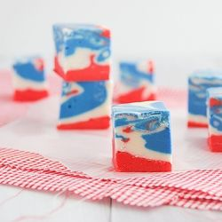 4th of July Tie Dyed Fudge #scentsylaborday