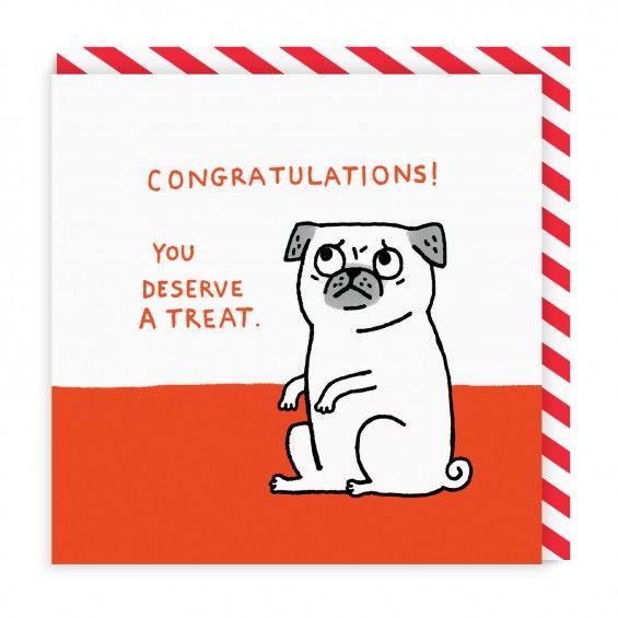 Congratulations you deserve a treat square greeting card ohh deer congratulations you deserve a treat square greeting card ohh deer m4hsunfo