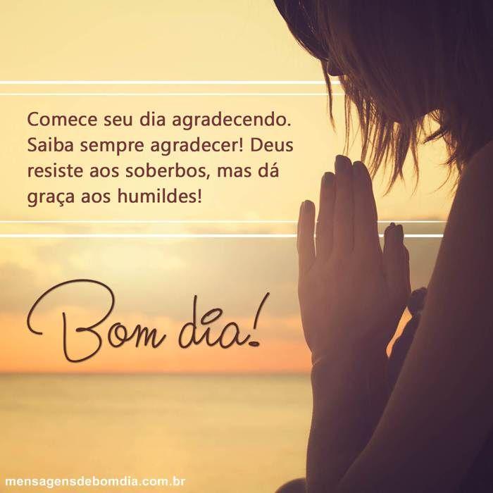 Bom Dia Com Gratidao Bom Dia Gratidao Mensagens De Bom Dia