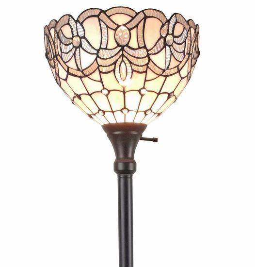 Lite Source Karysa Tiffany Style Torchiere Floor Lamp V9521 Lamps Plus Torchiere Floor Lamp Floor Lamp Tiffany Style