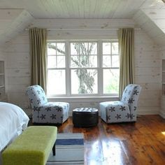 Whitewash Knotty Pine White Wash Walls Dark Rough Hewn Hardwood Flooring