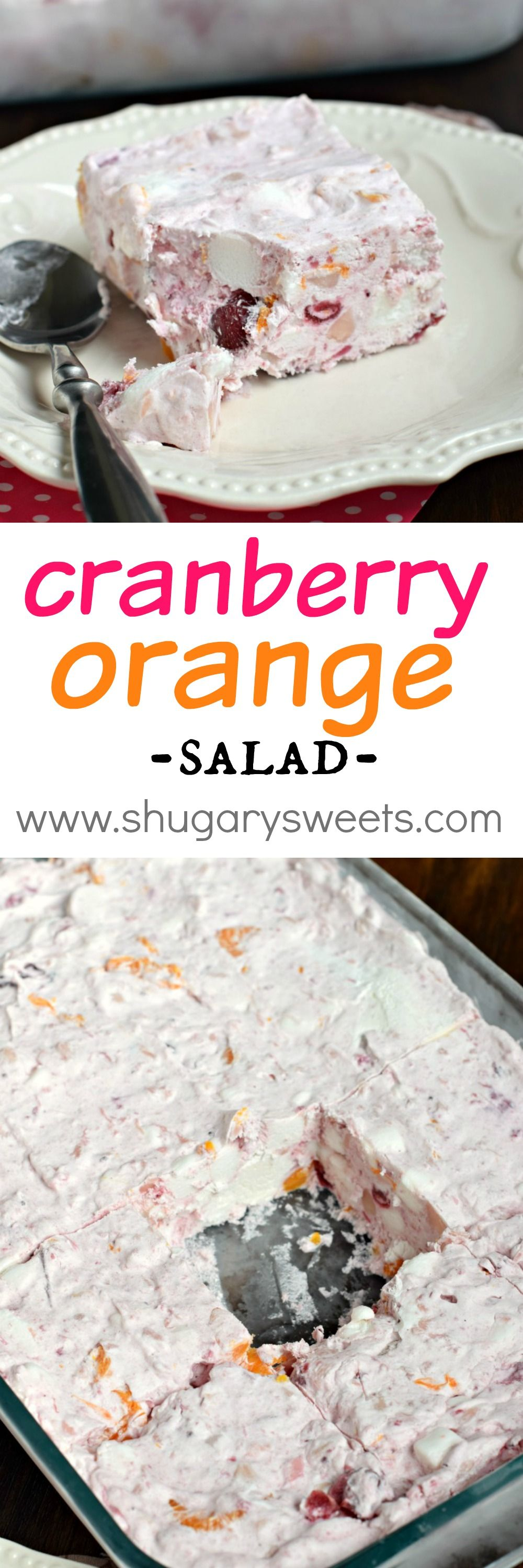 Frozen Cranberry Orange Salad