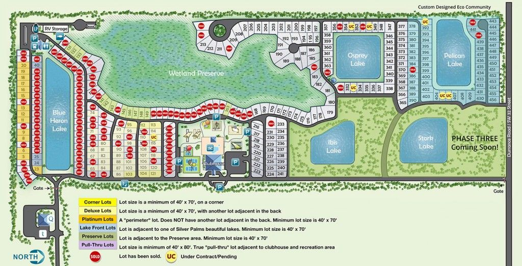 Rv Lots For Sale In Florida At Silver Palms Rv Resort Rv Lots Silver Palms Parking Design