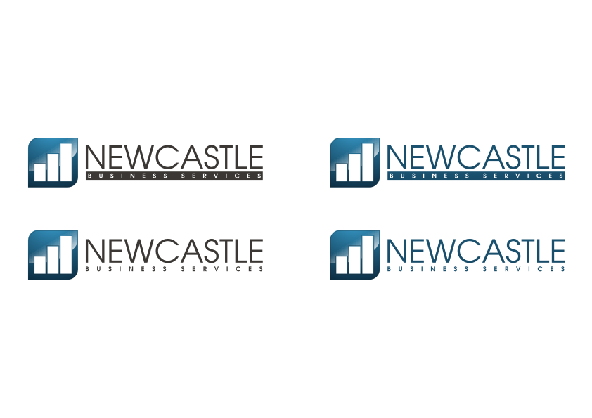 newcastle business services new corporate identity by 412 k4n
