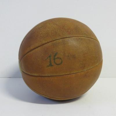 Leather 4kg Medicine Ball 3
