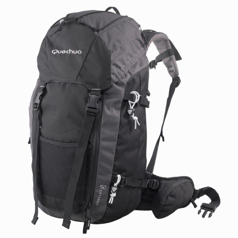 quechua. forclaz 50 hiking backpack. surprisingly one of the most  comfortable   convenient backpacking bags. this bag went through 43  countries in europe … 28e56b586e0dc
