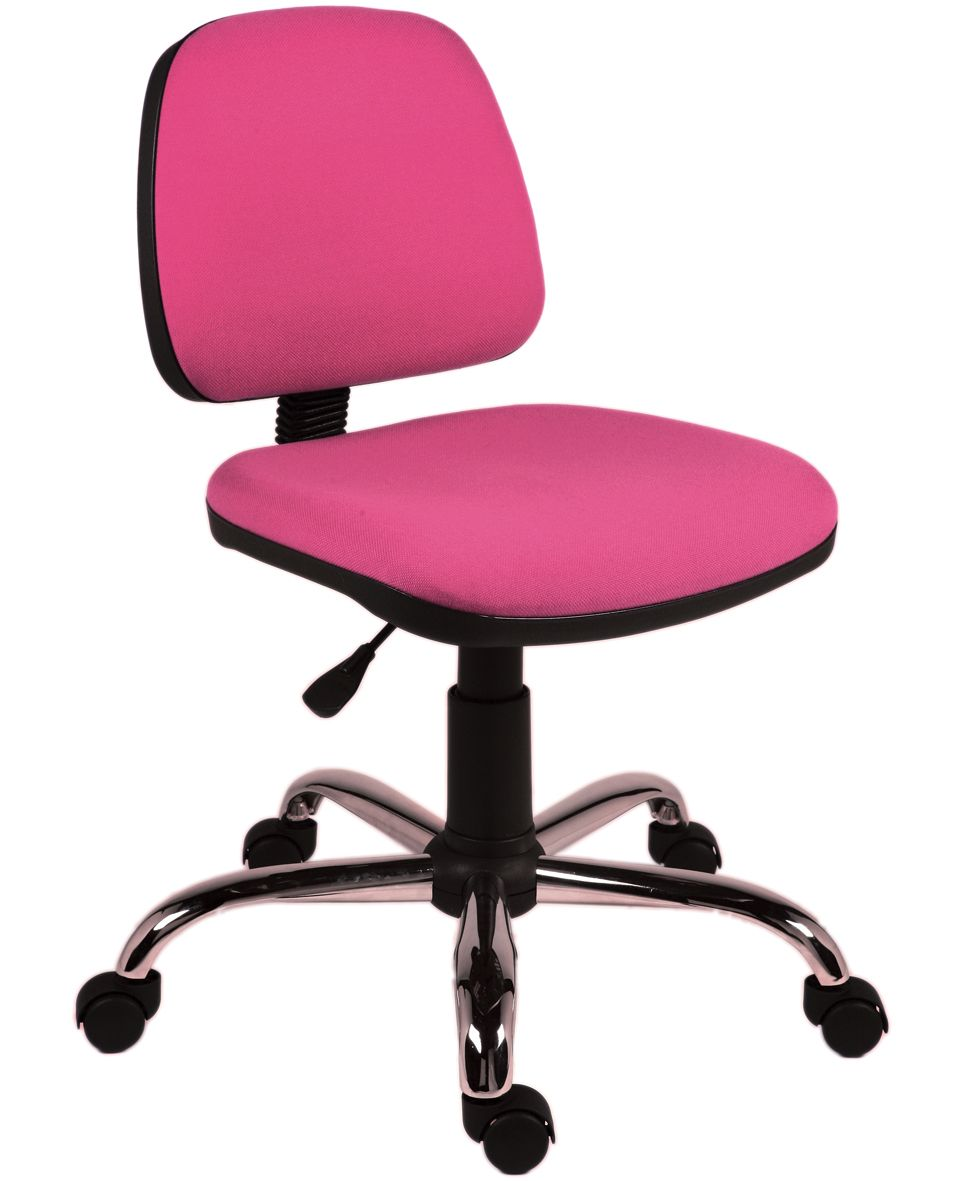 Rose Pink Operators Chair Www.furniture123.co.uk