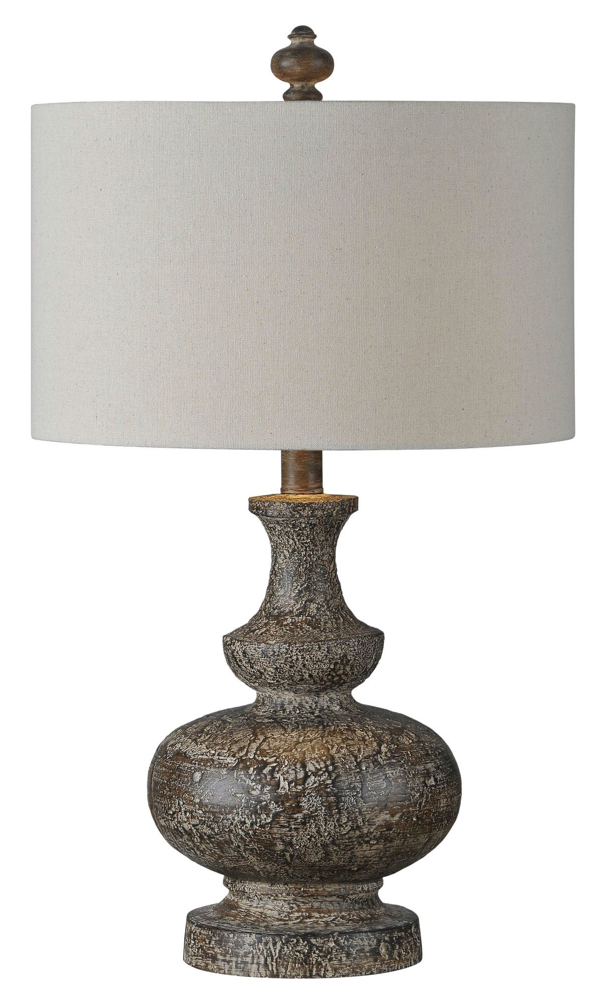 Highfill 21 Table Lamp Abajur De Madeira