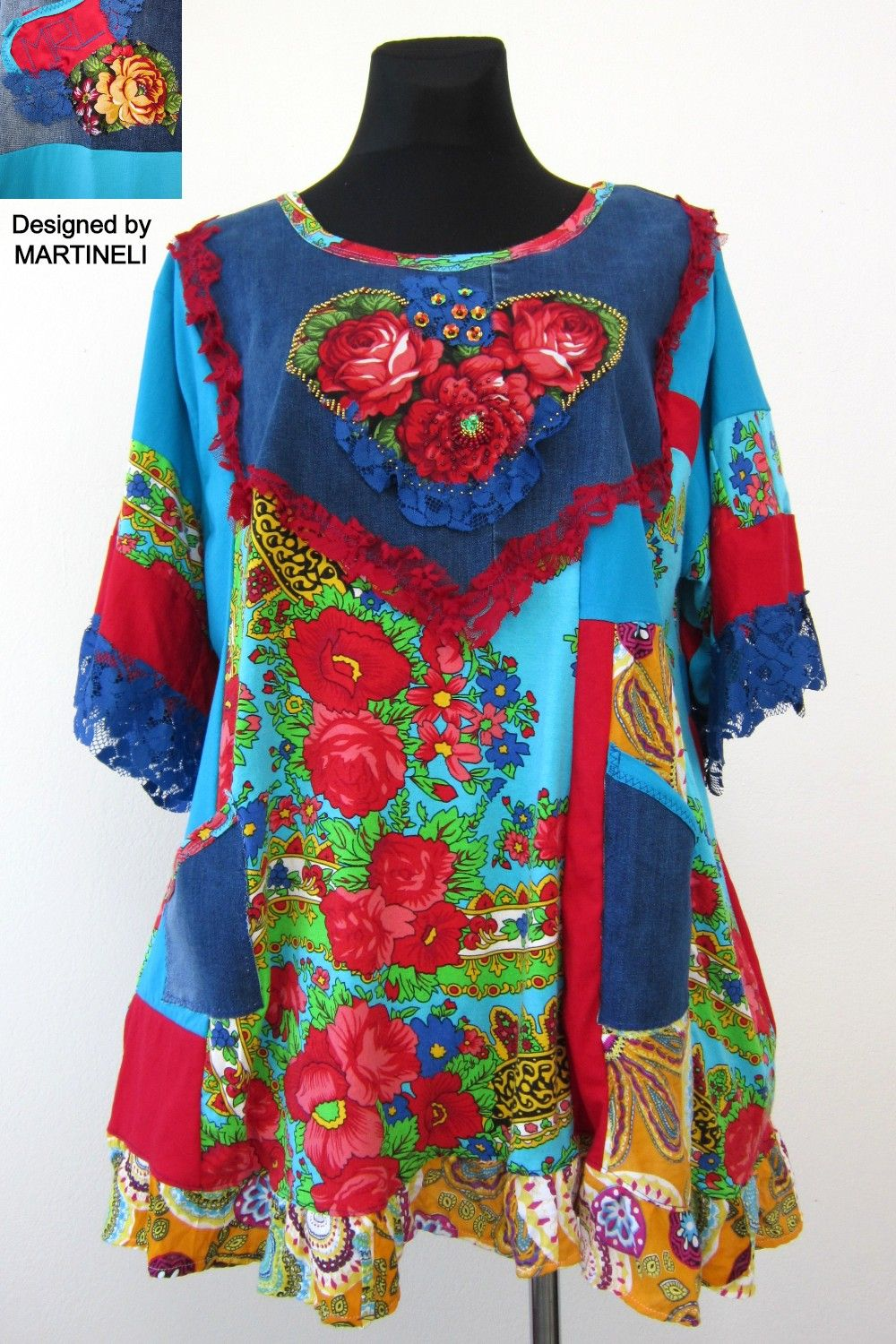 Plus Size Boho Hippie Clothes