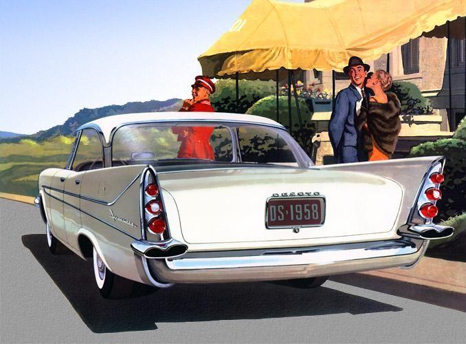 1958 DeSoto Firesweep 4 Door Sportsman   Wheel Wonders 1950's ...