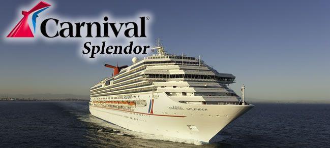 Carnival Splendor Carnival Cruise Ship Cruise Pinterest - Pictures of carnival splendor cruise ship
