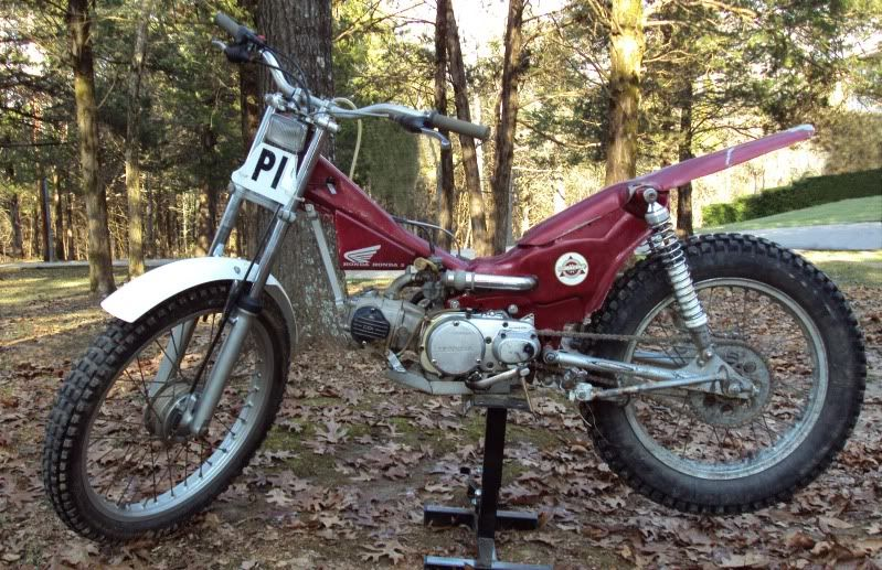 Trials Bike in The Repair Shed - Customizing Your CT Forum | motive