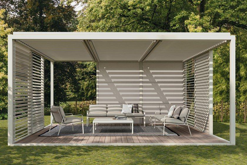 Freestanding Aluminium Pergola Pavilion H By Kettal Pergola Outdoor Pavilion Aluminum Pergola