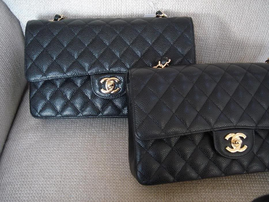 0c85d1faae5c Jumbo Matte Caviar vs. Jumbo Shiny Caviar *PiCs please* - PurseForum ...