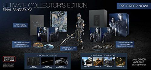 Final Fantasy XV Ultimate Collectors Edition  PlayStation 4 -- Be sure to check out this awesome product. Note:It is Affiliate Link to Amazon.