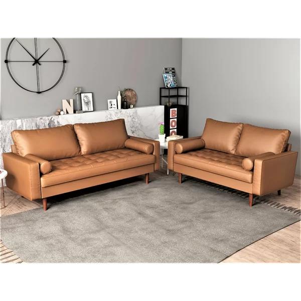 Appin 2 Piece Living Room Set Modern Living Room Set Living Room Sets Sofa And Loveseat Set