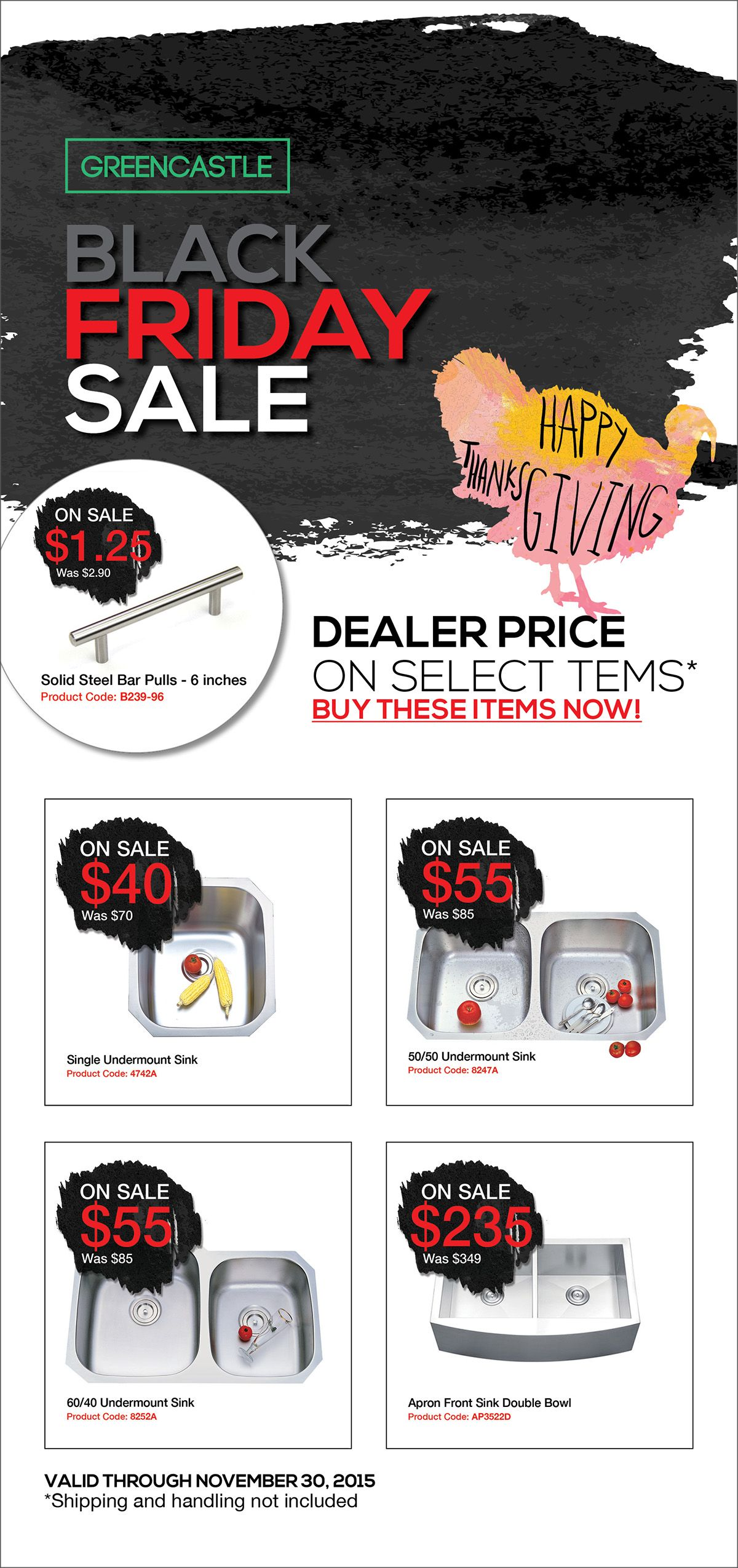 For a limited period, get a dealer price on select kitchen sinks and ...