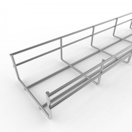 Wire Basket Cable Tray Length by Electrix International Ltd | Cart ...