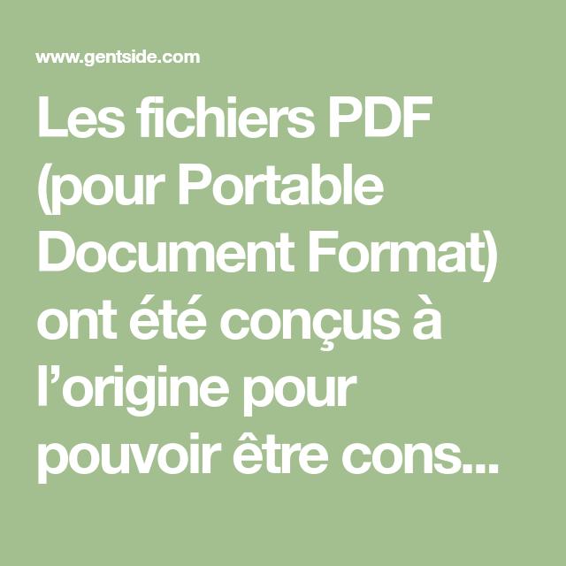 Pdf Comment Modifier Un Fichier Pdf Gratuitement Et
