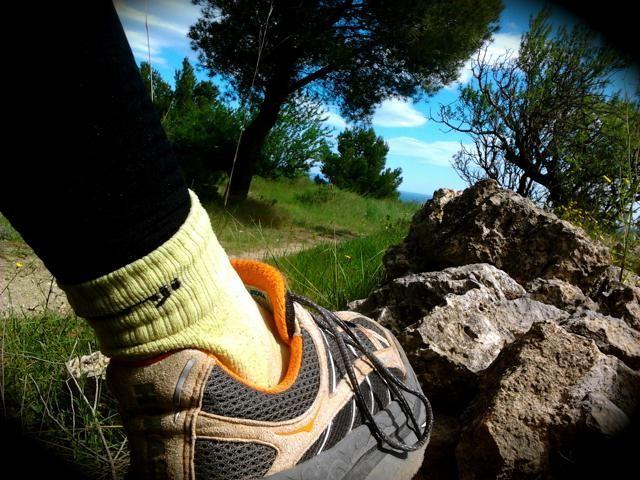 Running sur le Plateau de Leucate, le 10 mai 2013
