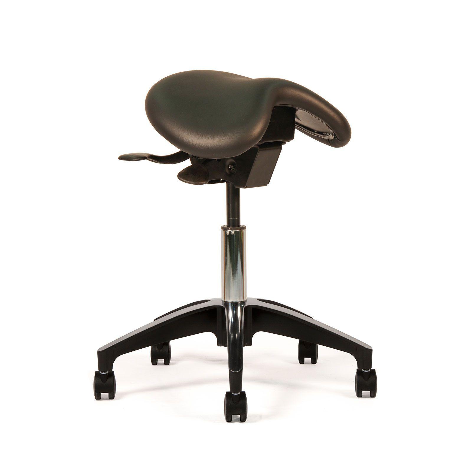 Crown Seating   English Saddle Ergonomic Saddle Medical Chair; ErgoLab E400
