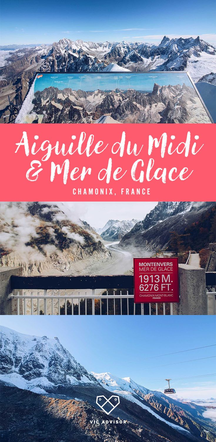 For breathtaking scenery of the French Alps, you need to ascend 3,482m to Aiguille du Midi in Chamonix!