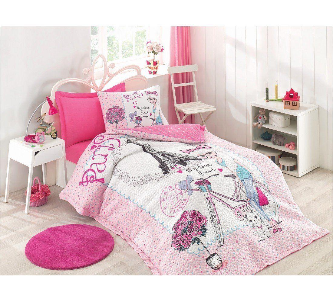 BEST FRIEND Paris bedding set, 100 Cotton, Full/Twin Size