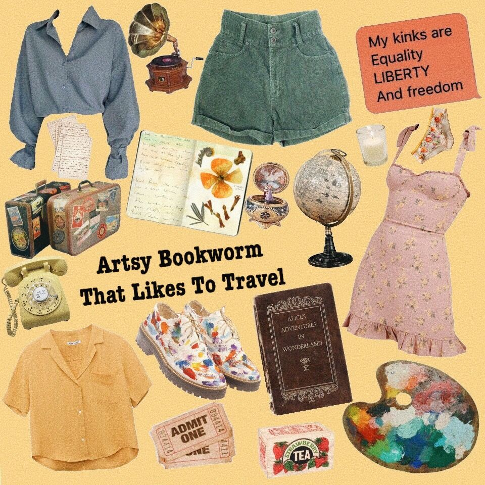 Artsy Bookworm That Likes To Travel Aesthetic Clothes Mood Clothes Aesthetic Fashion