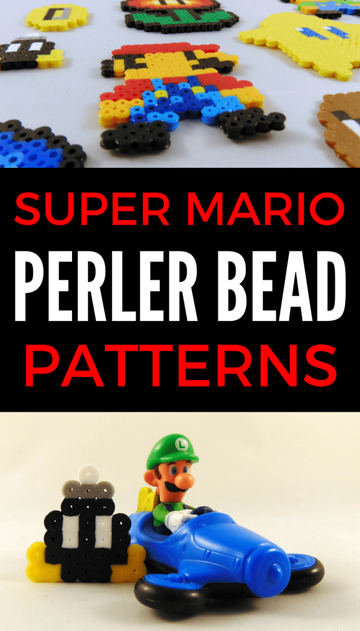 Easy Super Mario Perler Bead Patterns Super mario Mario and