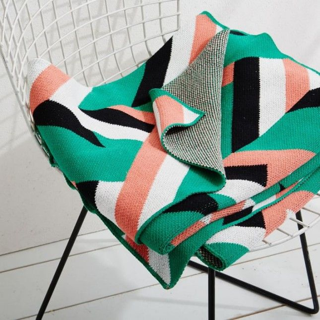 40 Cozy Colorful Throws To Update Your Decor For The New Year Classy Colorful Throw Blankets