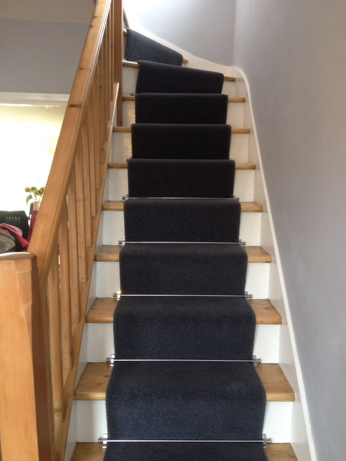Axminster Carpets Devonia Discovery Grey Stair Runner
