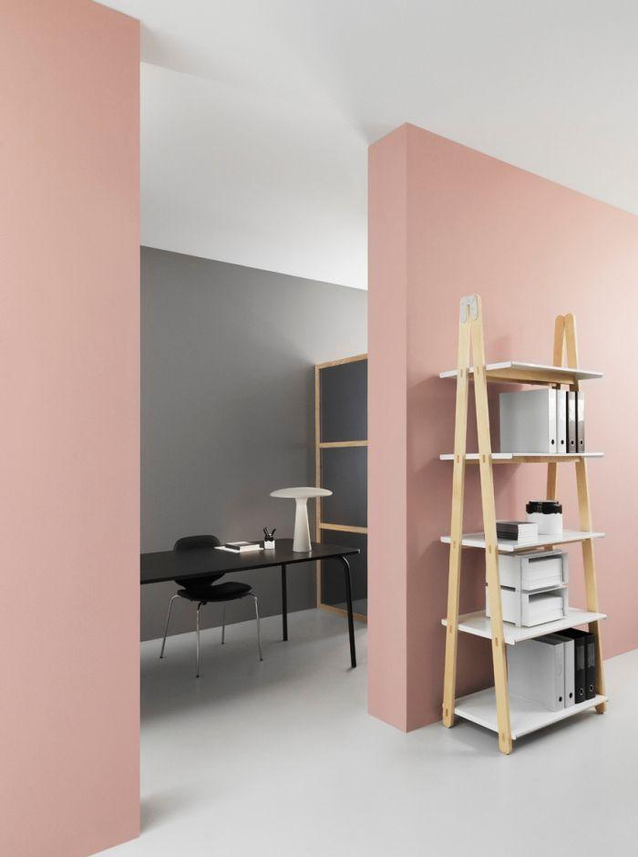▷ 1001 + exemples inspirants pour une déco rose poudré - peinture blanche pour mur